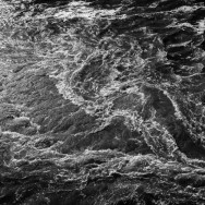 pattern of white water