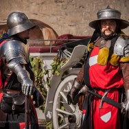 Two soldiers in period armour