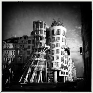 "The ""Dancing Building"" in Prague"